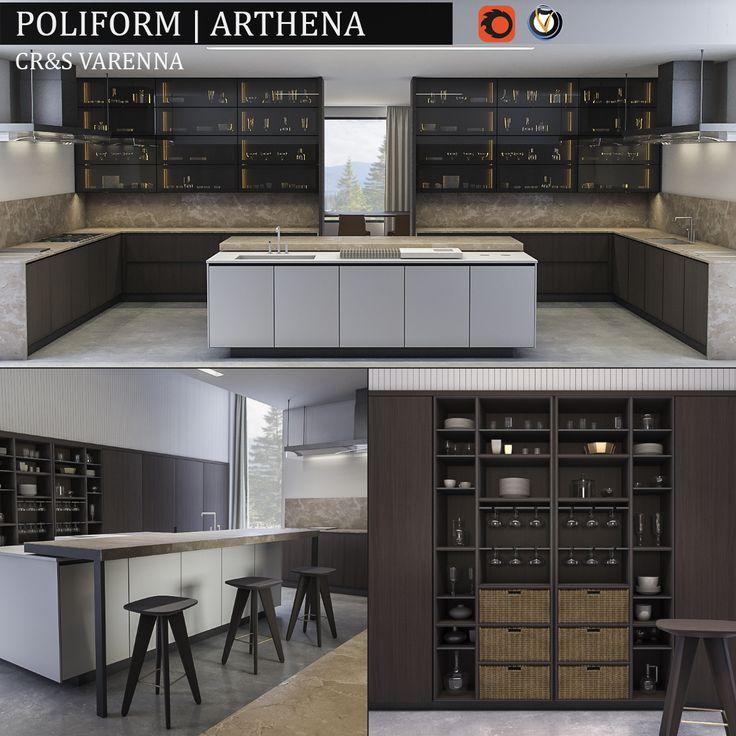 Kitchen Varenna Arthena | 3D Model