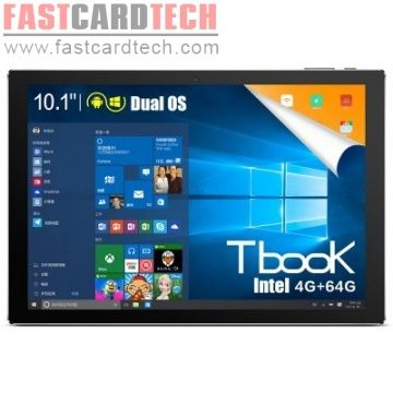 Teclast Tbook 10 2 in 1 Tablet PC 10.1inch Windows 10 Android 5.1 Intel Cherry Trail Z8300 Quad Core 1.44GHz 4GB RAM