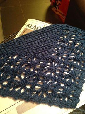 haken, omslagdoek, sjaal, spider, crochet, shawl, wrap