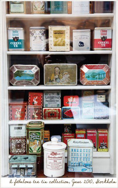 Love Vintage Lables - A Tea Shop in Stockholm by acreativemint, via Flickr