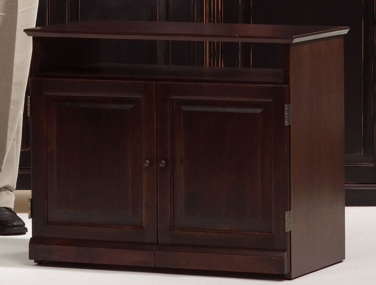 Lovely 2 Coats Of Java Gel From General Finishes On Unfinished Furniture TV Stand.  General Finishes