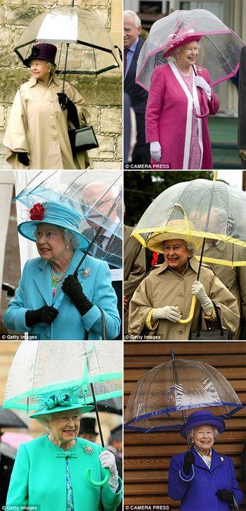 エリザベス女王 愛用透明傘英国王室御用達のグッズメーカー『FULTON(フルトン)』