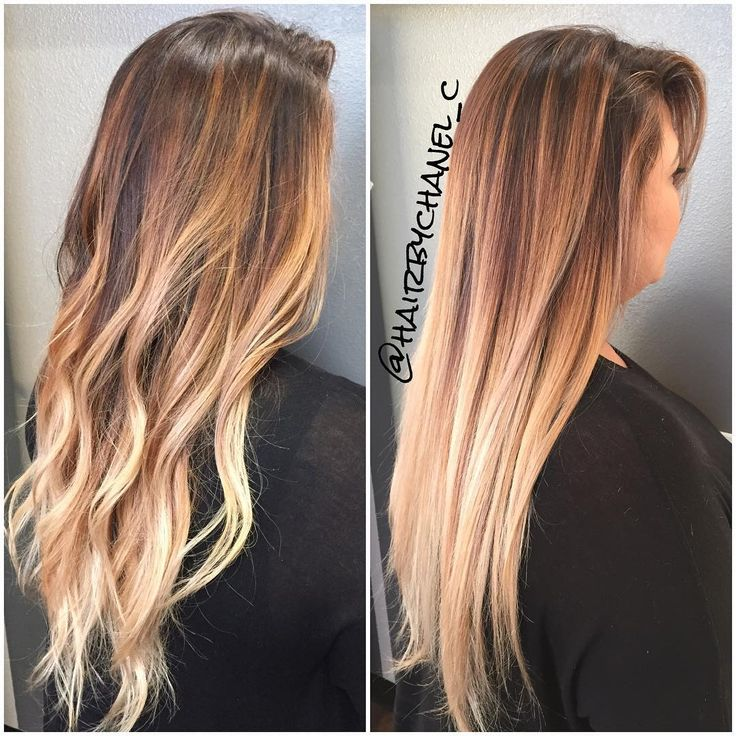 \u201cWhen your balayaged hair is on POINT it looks FLAWLESS straight or curled \u201d