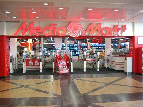 De ingang van een Media Markt