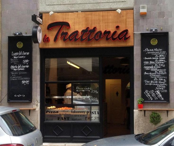 La Trattoria, Italian fast food restaurant in Budapest, Október 6. str. 13. - https://www.facebook.com/pages/La-Trattoria/263486150454656