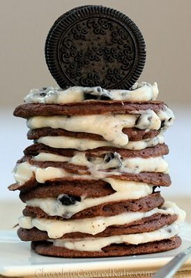 oreo cookie pancakes