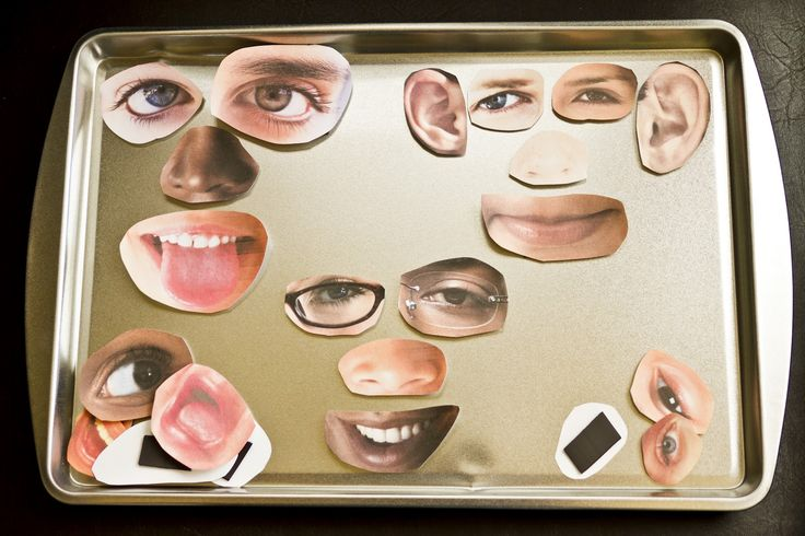 Early Childhood Education * Resource Blog: Face Magnets