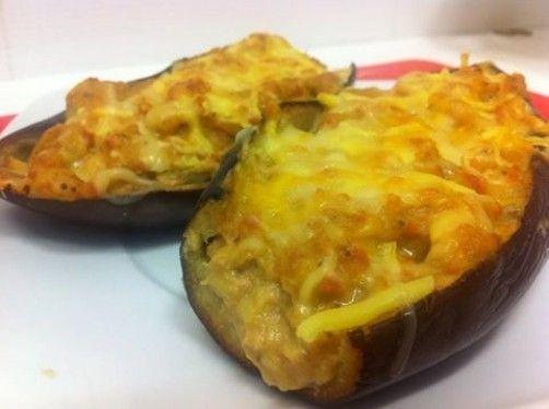 Berenjenas rellenas Trix para #Mycook http://www.mycook.es/receta/berenjenas-rellenas/