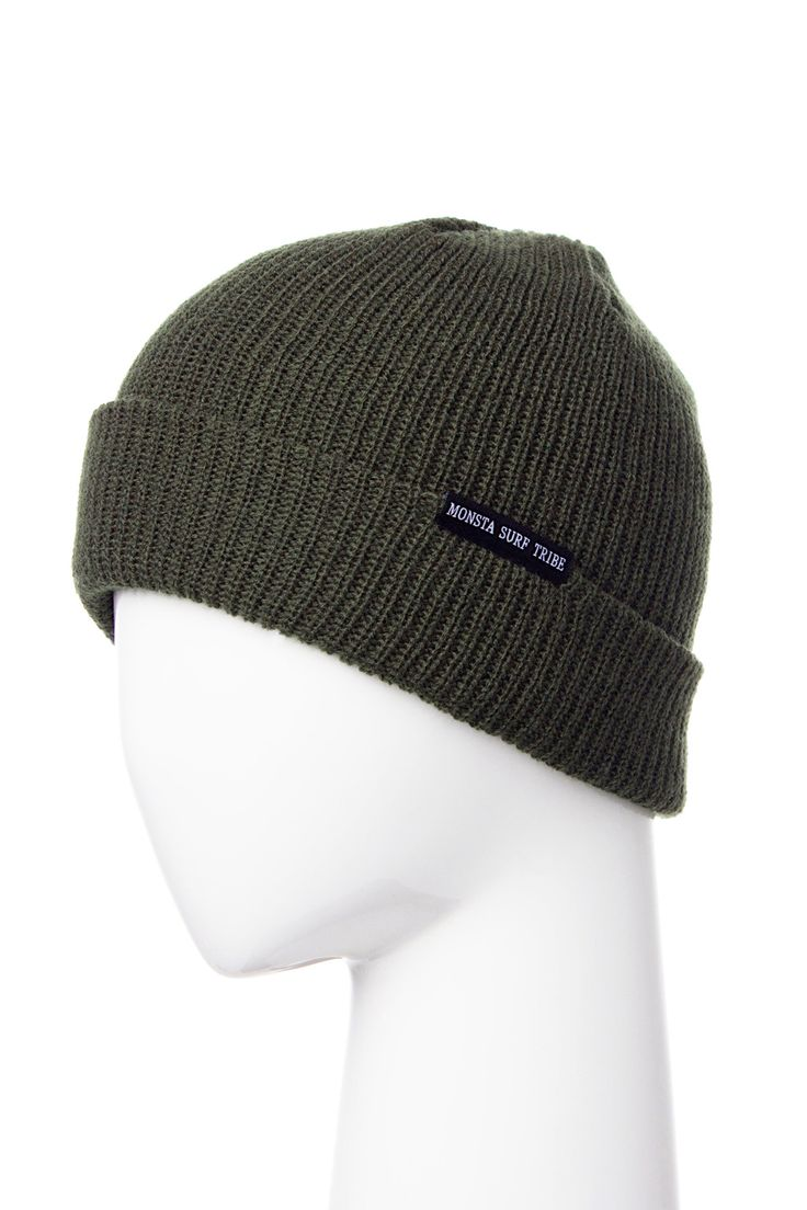 Surf Tribe Beanie Army Green from Monsta Surf