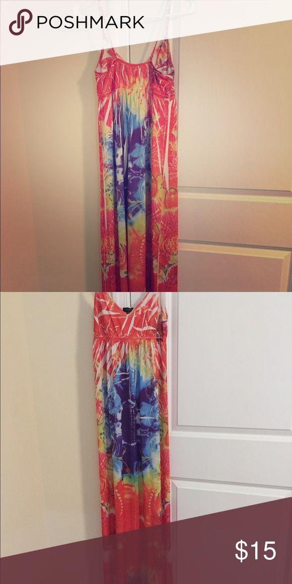 Multi color maxi dress Multi color maxi dress Sam & Max Dresses Maxi