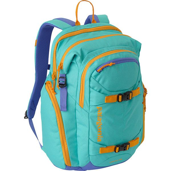 Patagonia Jalama Pack 28L Laptop Backpack (180 NZD) ❤ liked on Polyvore featuring bags, backpacks, blue, laptop backpacks, waterproof daypack, blue backpack, strap backpack, patagonia backpacks and padded laptop backpack