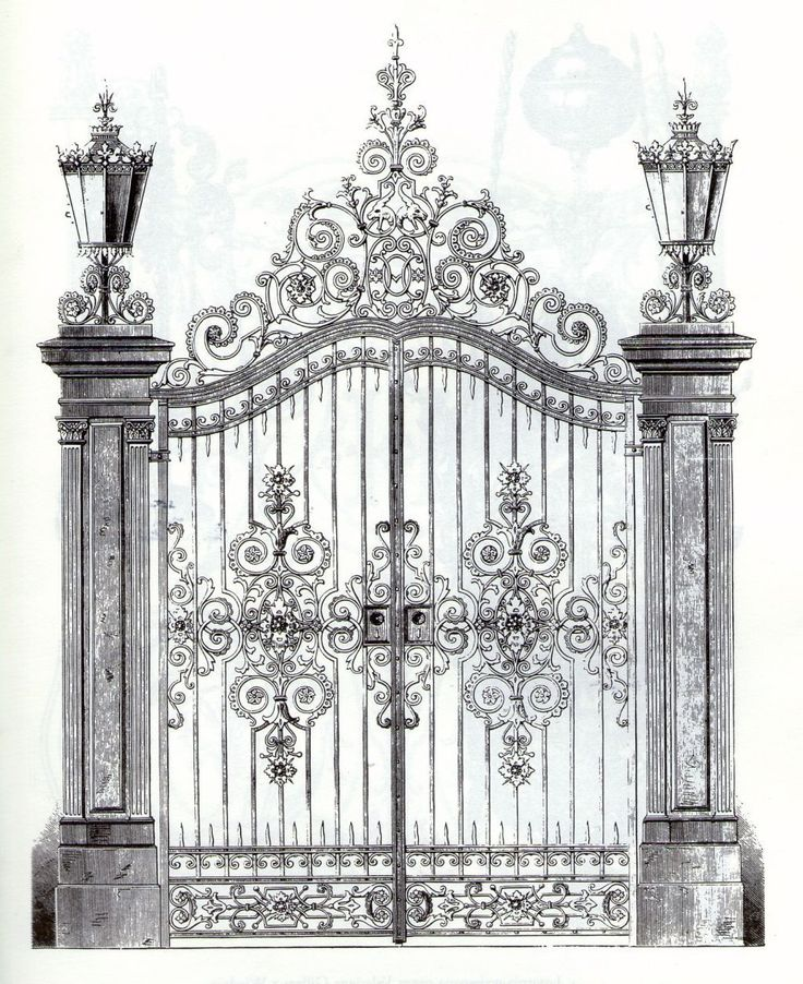 Best gate images on pinterest metal gates wrought