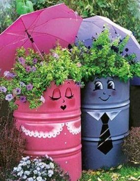 Super Id E Pour D Corer Votre Jardin Id E Original Pinterest Fils Pots Et Recherche