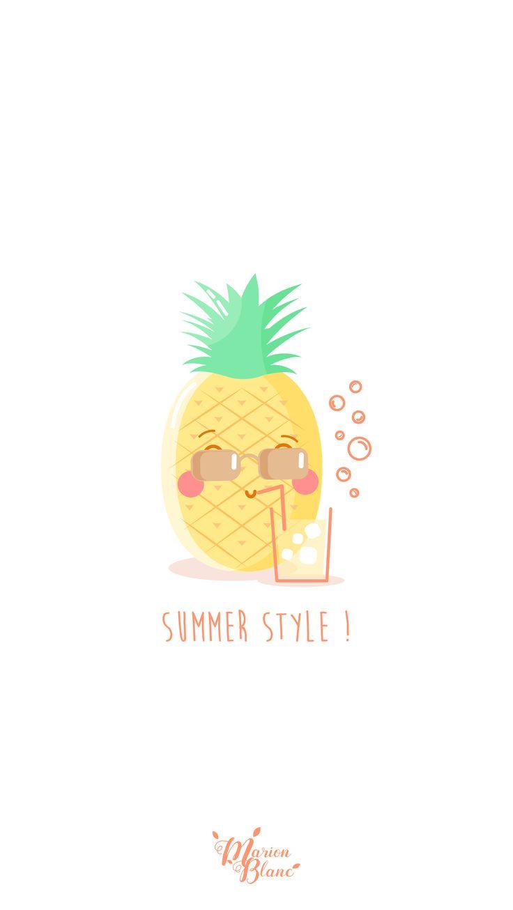 17 Meilleures Ides Propos De Ananas Dessin Sur