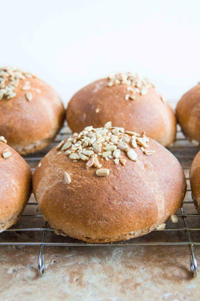Whole Wheat Brioche Burger Buns (3 of 4) | Bread. | Pinterest