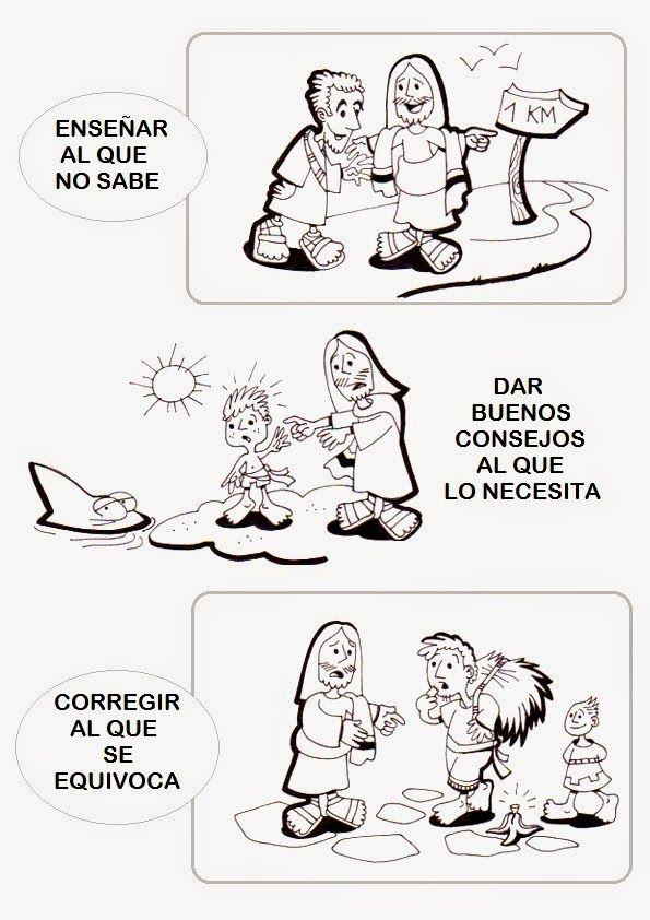 Las obras de misericordia para Niños: materiales para la catequesis ~ Catequesis de la Diócesis de Santiago de Compostela