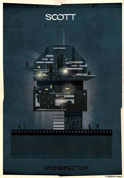 "Federico Babina - from series ""Archidirectors"" - Scott -  http://federicobabina.com/"