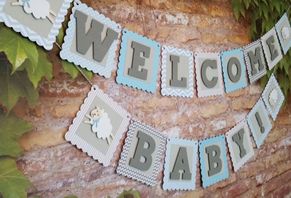 Hey, I found this really awesome Etsy listing at https://www.etsy.com/listing/247371818/little-lamb-baby-shower-banner-baby-boy