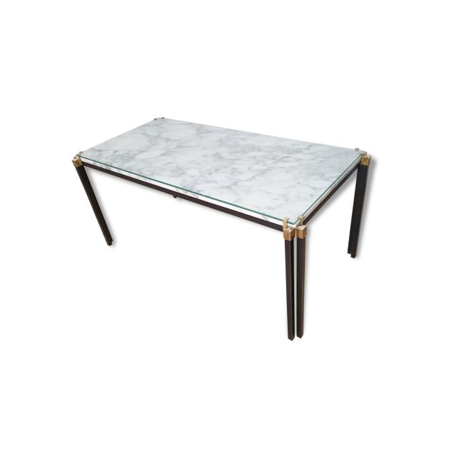 Table Basse Italienne Marbre M Tal Blanc Bon Tat Design 27787 Tables Et Design