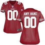 Nike San Francisco 49ers Women's Custom Game Jersey - Red