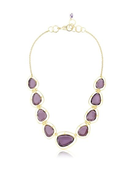 I love Kanupriya and this necklace is tops in my book! -- KANUPRIYA Purple Delight Necklace at MYHABIT