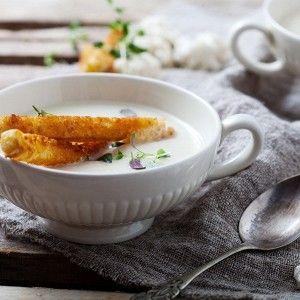 Холодный суп-пюре из цветной капусты