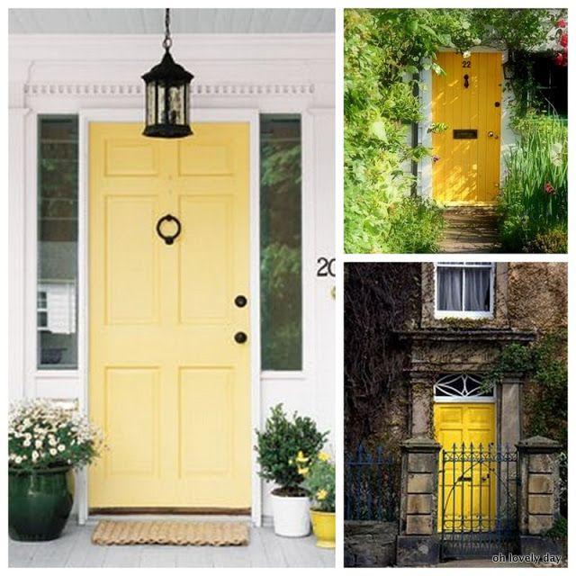 Oh Shut The Front Door Part - 26: Bold + Colorful Front Doors