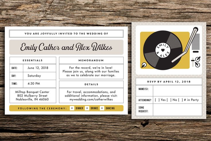 Moonrise Kingdom Wedding Invitation Suite // Wes Anderson Wedding Whimsical Invitation Eclectic Wedding Retro Record Player Neutral Mustard by factorymade on Etsy https://www.etsy.com/listing/243638215/moonrise-kingdom-wedding-invitation