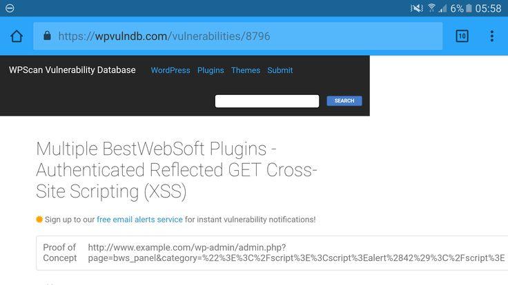 Praktycznie w każdej z wtyczek od BestWebSoft bardzo popularnych i lubianych wtyczek m.in. rating-bws, Contact form to DB, Adsense plugin - wykryto podatności na ataki XSS - w sumie ponad 53 wtyczki z wykrytą podatnością. Raportzostał opublikowany 12.04.2017r. Przez firmę DefenceCode. Autor zapewnia, że problem został rozwiązany w nowych wersjach wtyczek. Pełna lista podanych wtyczek oraz...