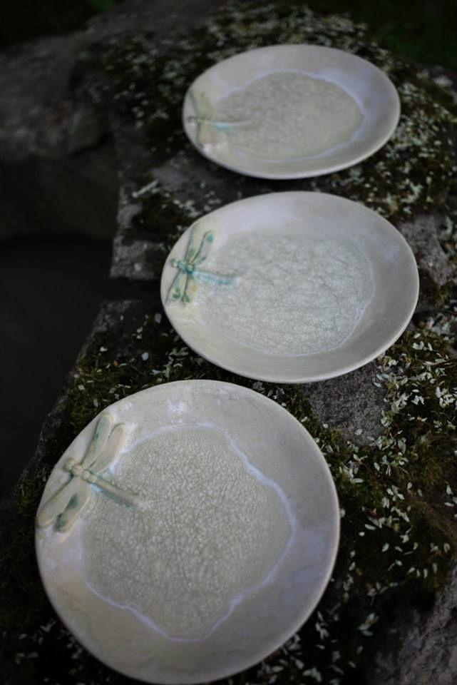 Ceramic cake plate. Autor. Kärdik keraamika.
