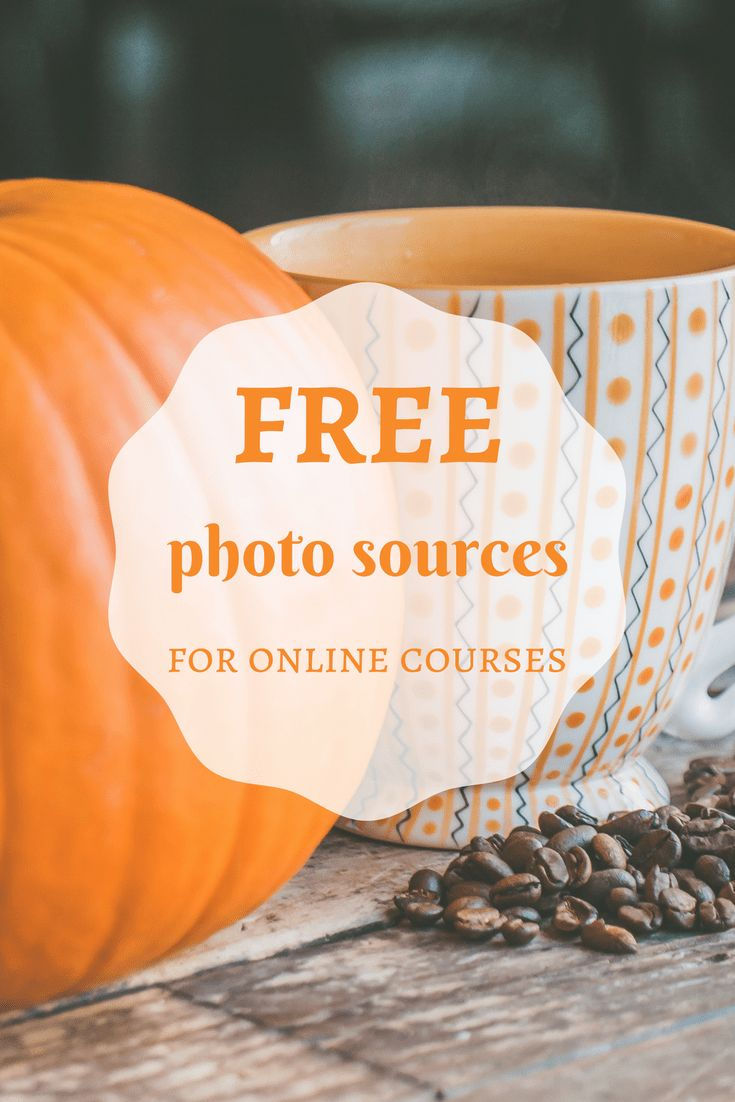 Free photo sources teachers can use for online courses #artinstitutedegrees