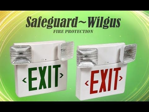 Emergency Light Annual Inspections Redding California (530) 241-2465 Safeguard Wilgus Fire Protection