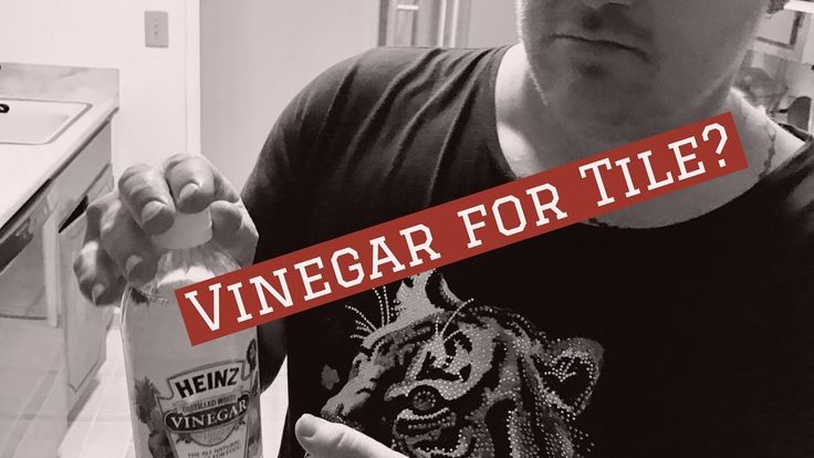 how to clean tiles with vinegar