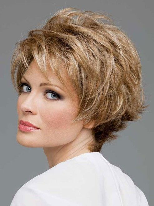 20 Short Hair for Older Ladies 2014: Straight Layered Hairstyles