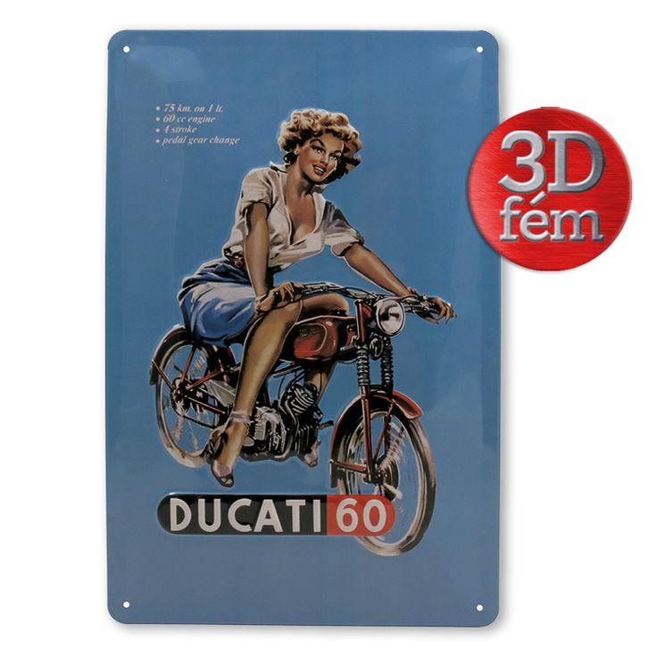 Ducati 60 fémtábla I Ajándék most poszterbolt