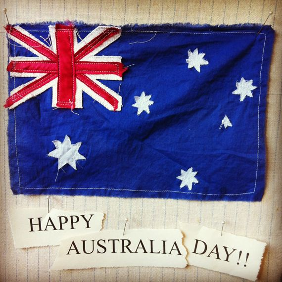Happy Australia Day. Lee Mathews