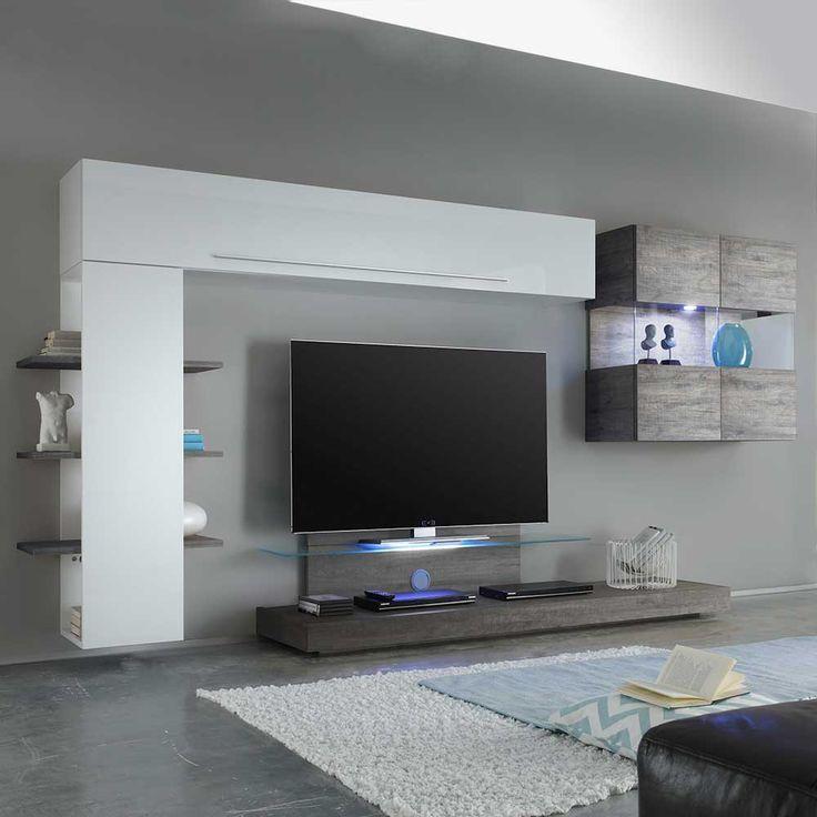25+ best ideas about designer wohnwand on pinterest | wanddesign ... - Wohnzimmerschrank Modern Wohnzimmer