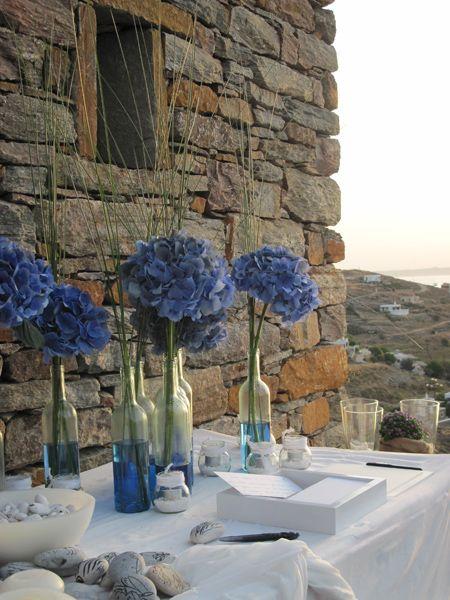 Διακόσμηση - τραπέζι ευχών