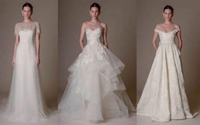 l'abito da sposa di Marchesa per la primavera estate 2016 Una collezione eterea è raffinata è la collezione presentata alla New York Bridal Week firmata Marchesa. Abiti curati nei minimi dettagli, impreziositi da pizzo, ricami con luminosi cristalli e perli #abitodasposa #marchsa
