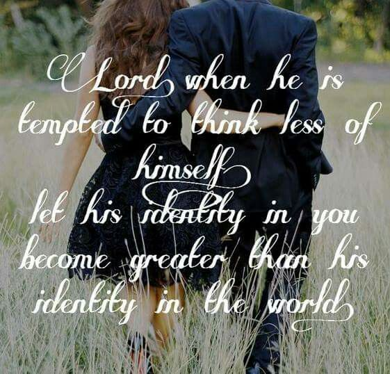 The prayer I pray for my future husband l