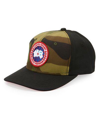 Canada+Goose+Men's+Logo+Baseball+Cap+ +Hat,+Headwear+and+Accessory