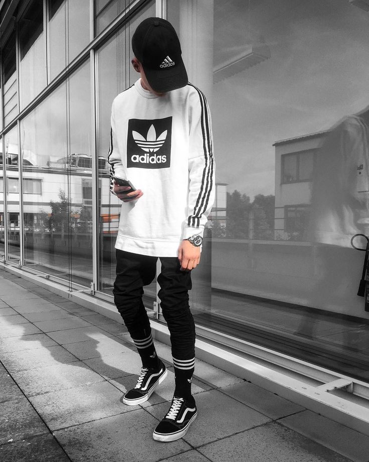 "1,537 Likes, 18 Comments - Outfitboy™ (@outfit_boy) on Instagram: ""This Outfit Boy Boy is @blvboy Adidas Cap & Socks Antioch Jacket Metallica Hoodie Dsrcv Pants…"""