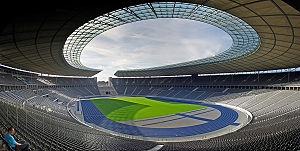 Olympiastadion, Herta BSC, Berlin, Germany