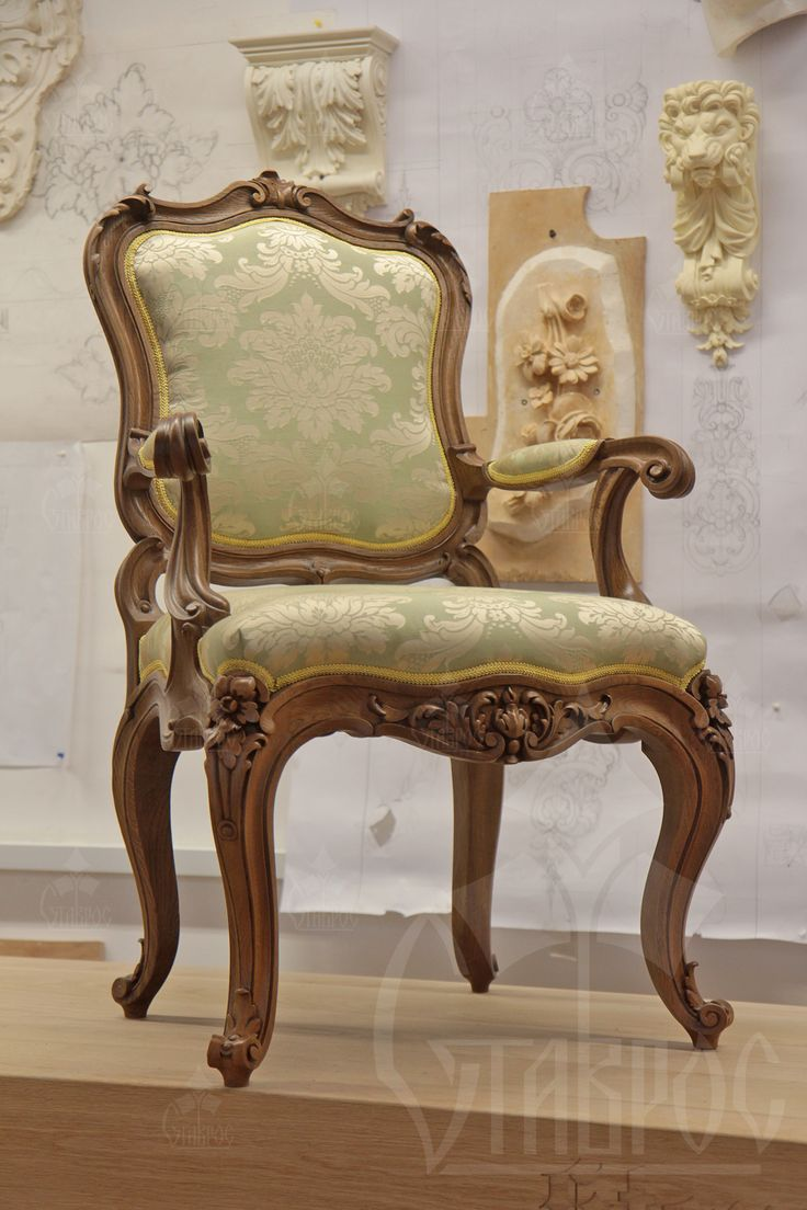 Роскошный резной стул из массива дерева. #мебель #кресло #дизайн #резьба Luxury carved chair made from solid wood. #furniture #design #armchair