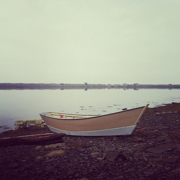 Dark Harbour Dory, Grand Manan, New Brunswick, Canada by Morgan Guptill
