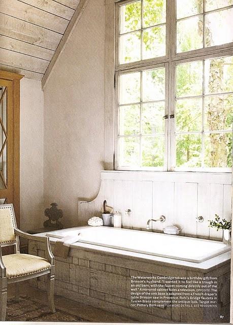 {L}{L}: Bathroom Design, Rustic Rooms, Window, Country Bathroom, Rustic Bathroom, Bathtubs, Bathroom Ideas, House, Old Barns