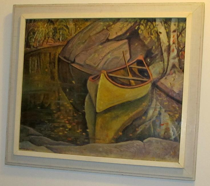 Painting by Anne Savage