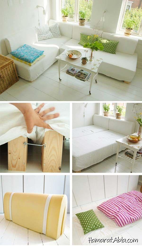 Küçük Odalar için 20 Güzel Fikir