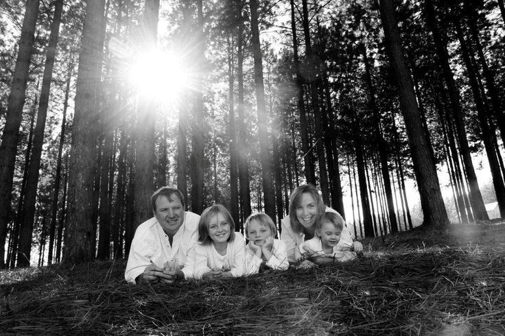 Family forest photography