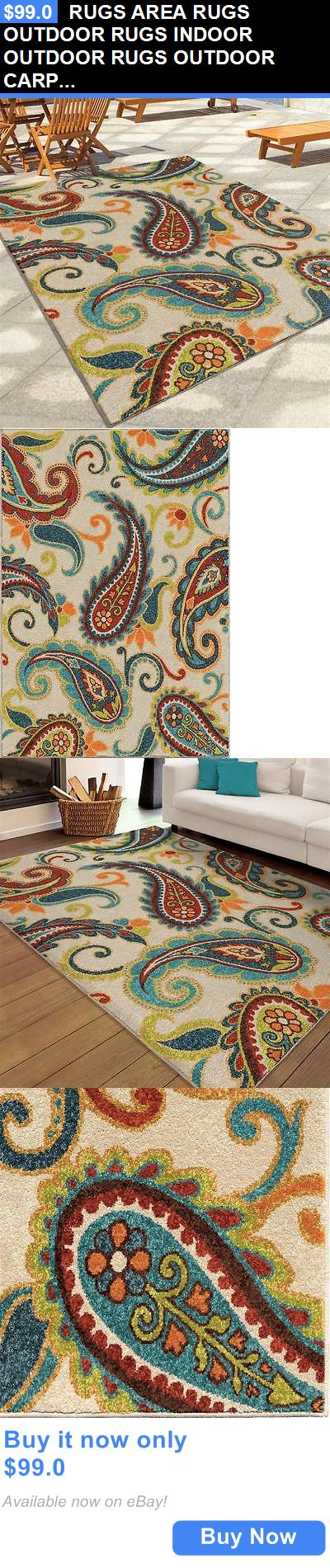 household items: Rugs Area Rugs Outdoor Rugs Indoor Outdoor Rugs Outdoor Carpet Rug Sale ~ New ~ BUY IT NOW ONLY: $99.0